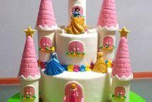 tartas princesas disney