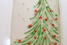 Dekoracje bożonarodzeniowe ciast