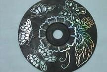 Scratched dvd/cds