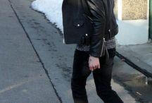 冬 黒スタイル