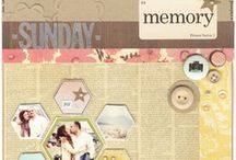 Scrapbook Layout Ideas / by Colleen Hollis 2tinytreasures