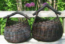 pletení košíků / košíky