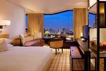 Hotel Rooms  / Enhance a deluxe stay with newly renovated guestrooms featuring all brand-new residential-style amenities accenting a warm Thai residence that allows guests to feel at home during holidays and business stay.  / by Grand Hyatt Erawan Bangkok