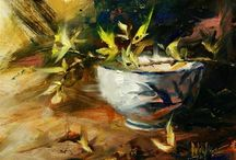 Art/Paintings-Still Life Genre / by Mary Anne Wallman