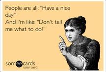 Something sarcastic