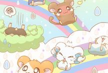 Hamtaro and the friends