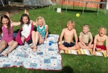 Summer Time Ideas / Summer fun for kids and families. Food, BBQ, activities, crafts, games and more.