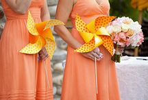 Naranja/orange (Wedding decor)