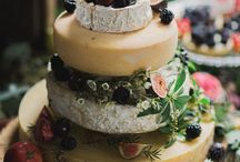 francine/frans wedding cheese cake / ideas for fran's wedding