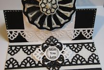 Cards - Lace- pin fold & tuck / by craftyhoots