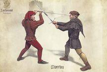 Sword fighting art