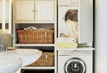 Laundry / Trying to get a nice space when it's going to be just a nook in the garage!