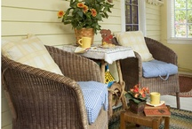 Small Front Porch Ideas / by Foy Joy