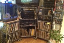 Music Storage & Organization / Vinyl Record and Albums, CDs, Cassette Tapes and all forms of media.