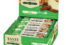 New Look, Same Great Taste! / You know that feeling when you get new clothes that look great on you? That's how we feel. We're excited to show you our our sweet new look: same delicious Taste of Nature bars, but in a brand-new package!