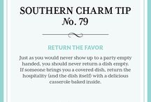 Southern charm tip / by Brittany Mizell