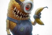 Monster dessin Disney