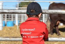 Our Passion for Sussex & other cattle starts young