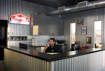 interior | car repair garage