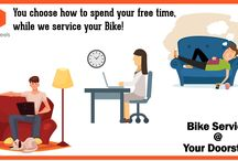 Bike Service Center In Gurgaon / Book your order online to service your bike from the trained mechanics available at affordable prices. Contact us now.