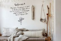 Rustic and Natural Interiors / A collection of unadorned rustic, natural interiors - rustic coastal, minimalist rustic, natural zen styles and more.