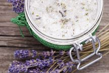 Body products / Recipes for homemade body products, including hand, face and body scrubs, bath salts etc.