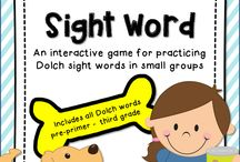 Sight Word Activities / Everything to do with sight words.