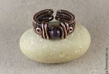 Wire wrapping rings