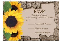 RSVP/Invitations / by Kayla Daniel