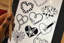 Tattoo Valentines