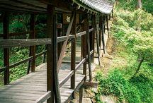 Bridges, old N new, secret and sacred.