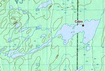 Northern Quebec Fishing Map | Cartes de pêche