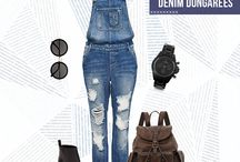 Denim Love / We at ONLY have an endless love affair with Denims. You can never have too many of them, is something we preach.