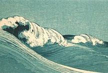 Waves and water  in ART