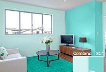 ColorLife / Tips para combinar tus espacios de la mejor manera