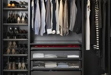 Closets and organisation