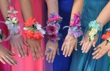 Prom Corsages and Boutonnieres / Corsages and boutonnieres, made from fresh flowers, ensure that you and your special someone look your absolute best at a formal occasion