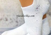 *Crochet - Feet, Legs