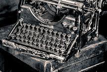 maquinas escribir / by emilio lindosa