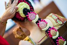 South Indian Bridal Hair / Inspiration for Bridal Hair looks