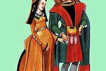 костюм 15 века