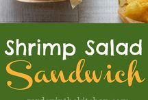 Sandwiches - Fisch & Meerestiere