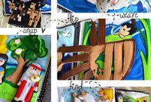 Dětské knihy s aktivitami