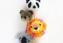 Pom Poms / A lovely world of pom pom inspiration.