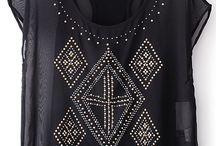 Caribbean Glam™ Tops, Shirts and Blouses / by Sarina