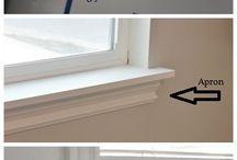 Window Trim / Concept, Ideas, Plans