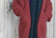 вязание пальто, жакеты