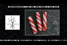 PAPER BEADS-CANDY CANE..