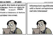 Informazione e dintorni / In questa bacheca trovi vignette e post pubblicati si www.tibicon.net relativi al tema dell'informazione.