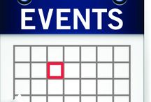 EVENTS! / Events can be about events at the library itself, events that benefit the library, or events that are near and dear to the library! These can be events that are local as well!